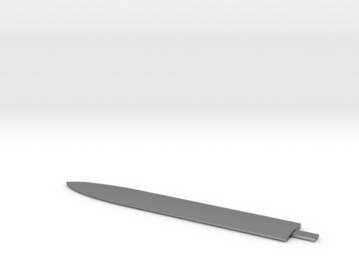 Rose of New York Coffin Handled Bowie Blade 3d printed