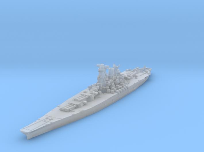 Yamato (1945) 1/2400 3d printed