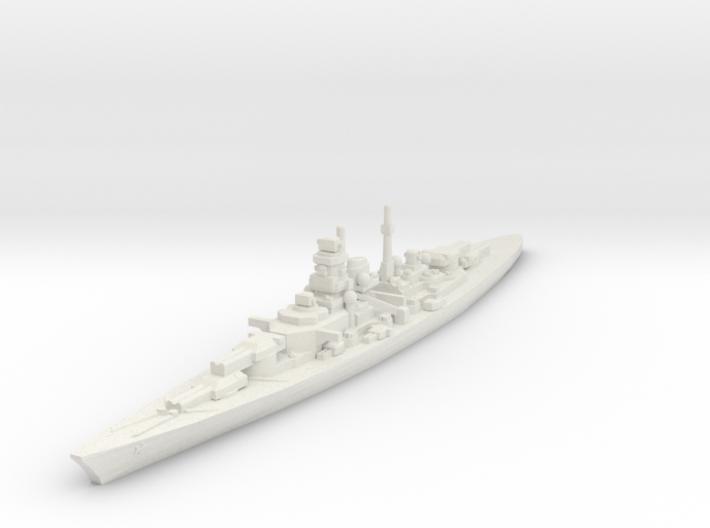Bismarck 1/2500 3d printed