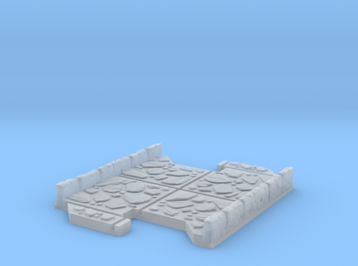 Small 2 way Dungeon Tile 3d printed