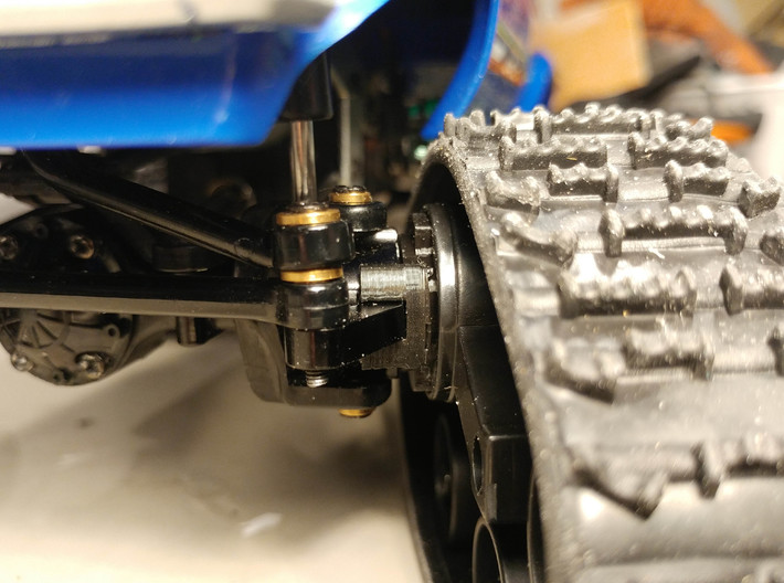 WPL Front Track Adaptor - Free Version 3d printed test Print prior to upload