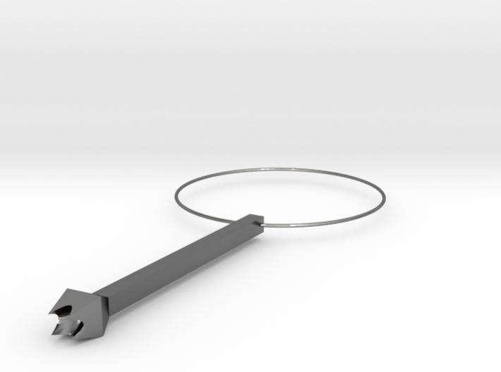 攜帶型叉子吊飾(Portable fork charm) 3d printed