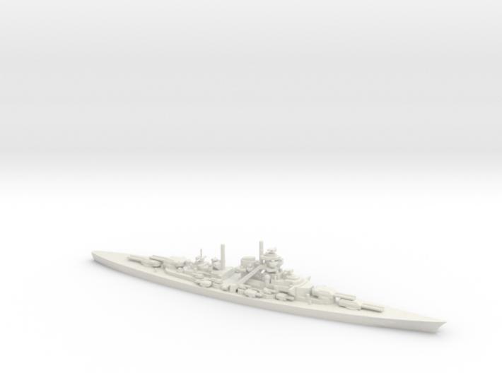 German Bismarck-Class Battleship 3d printed