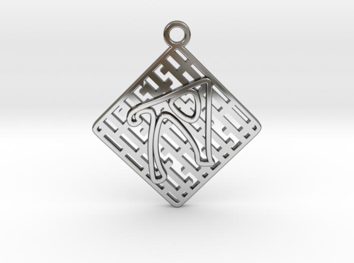 Tessellation Pendant (003) 3d printed