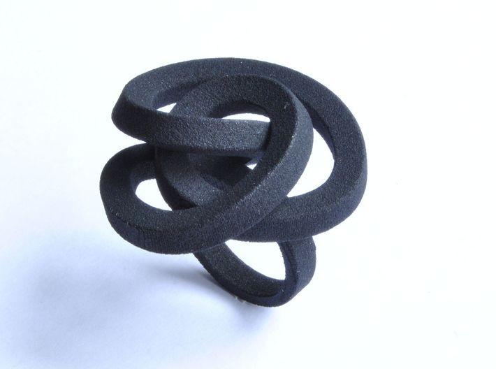 Lio Large  3d printed Colour Ring