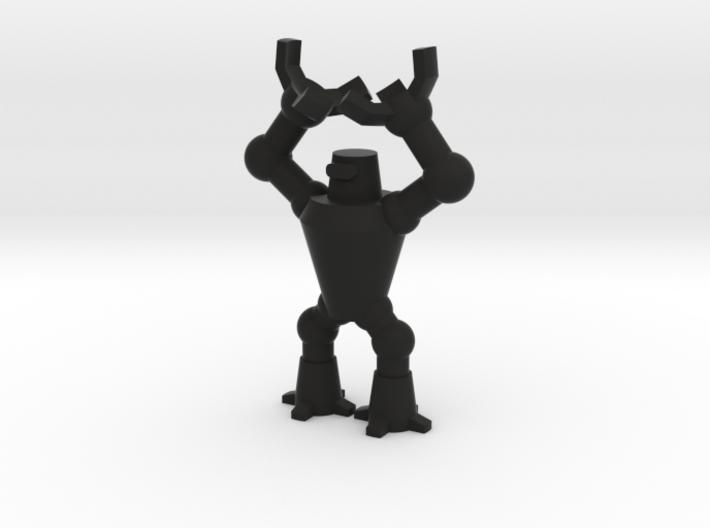 Mr. Roboto the dicebearer 3d printed