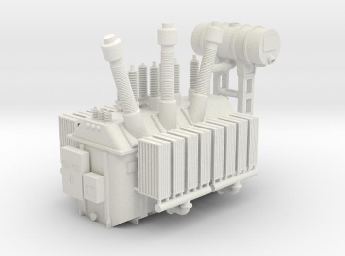 138kV Transformer Assembly 3d printed