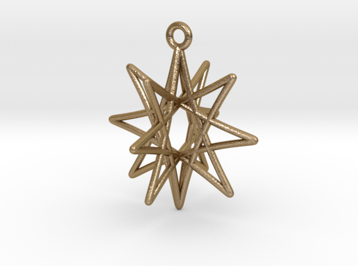 Star Ornament, 8 Points 3d printed