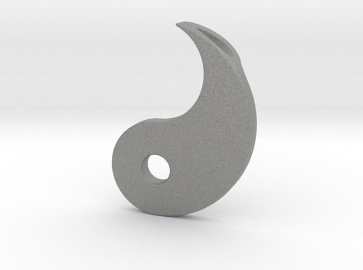 Yin Yang Pendant - Part 2 3d printed