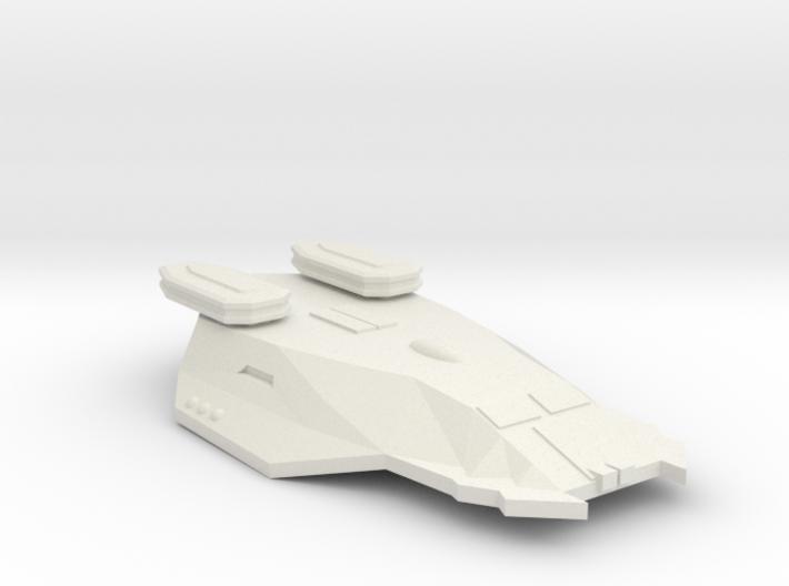 3125 Scale Zosman Light Cruiser (CL) MGL 3d printed