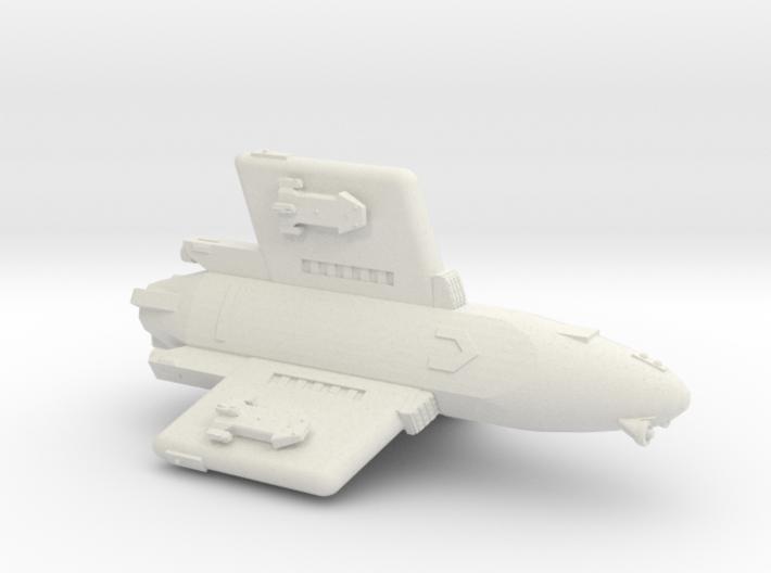 3788 Scale Hydran Pegasus Gunboat/PF Tender CVN 3d printed