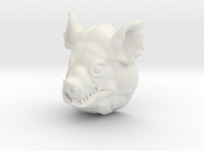 Large pighead 3d printed