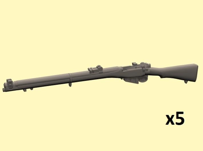 1/24 S.M.L.E. No.1 Mk.III rifles 3d printed