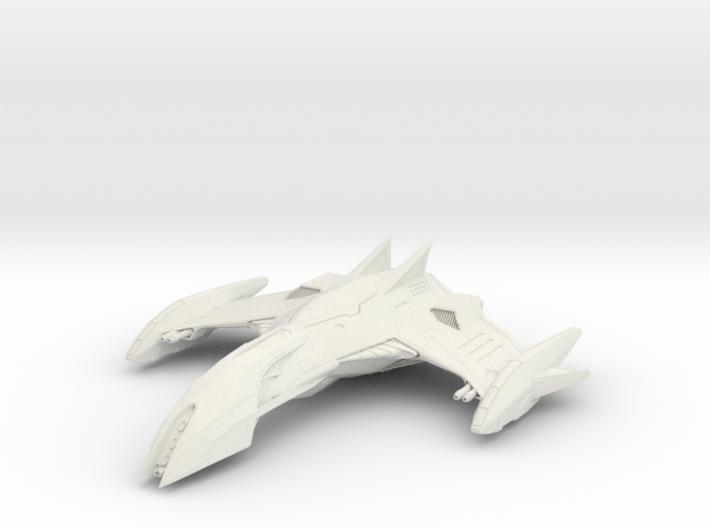"""Romulan Eagle Class WarBird 2.8"""" long 3d printed"""
