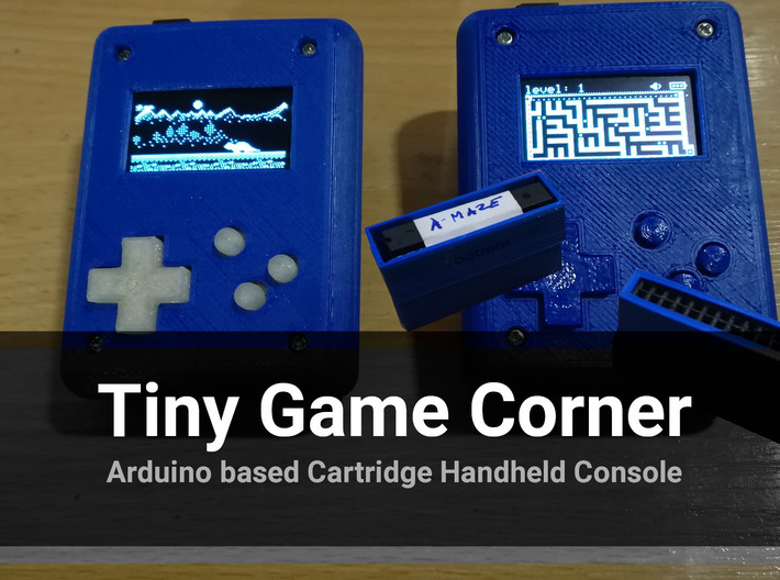 Tiny Game Corner Case 3d printed