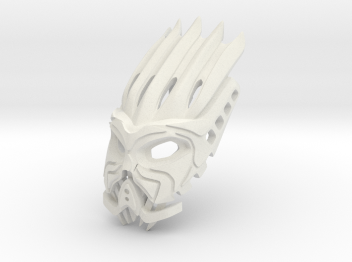 The Element Lord of Fire Face/Helmet 3d printed