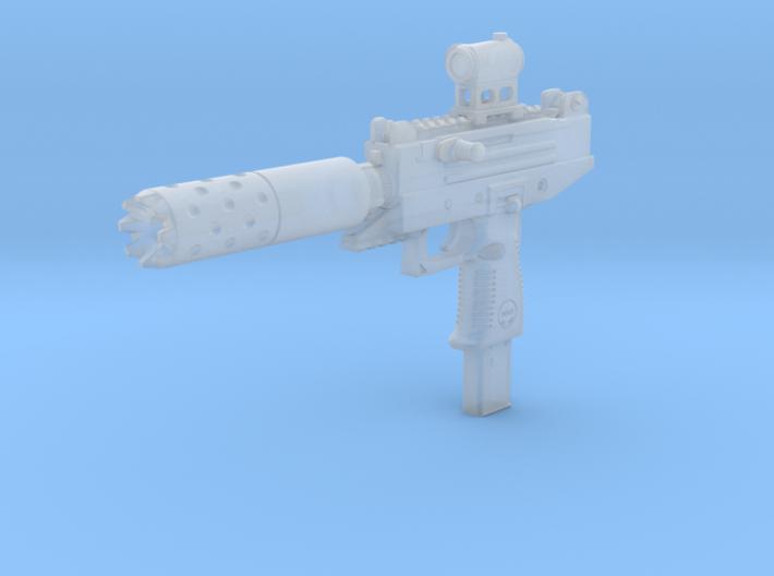 1/12th UZIPROtactical2 3d printed