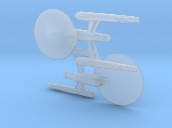 USS Enterprise (Discovery) 1/20000 3d printed