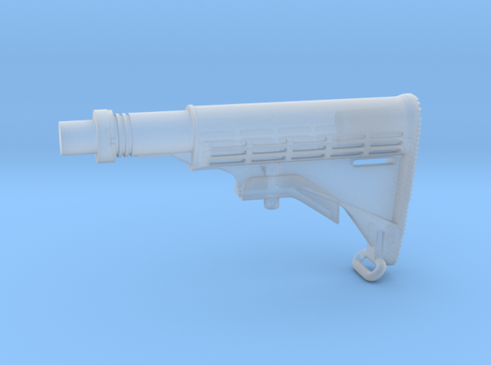 1/6th M4A1stock (10% oversized) 3d printed