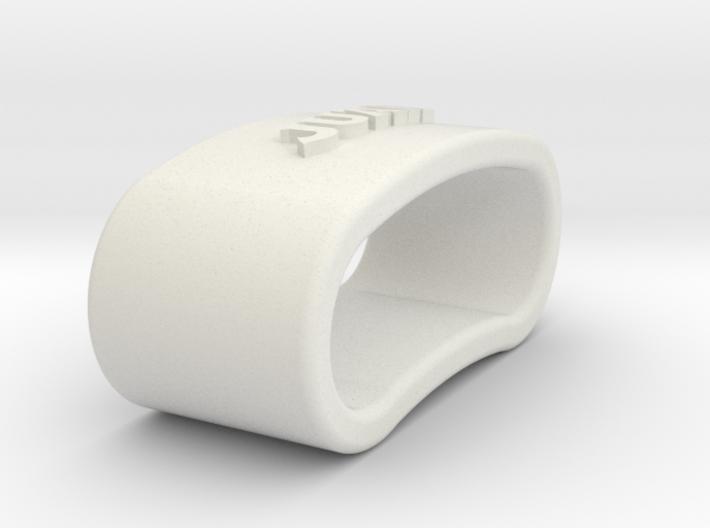 JUAN napkin ring with lauburu 3d printed