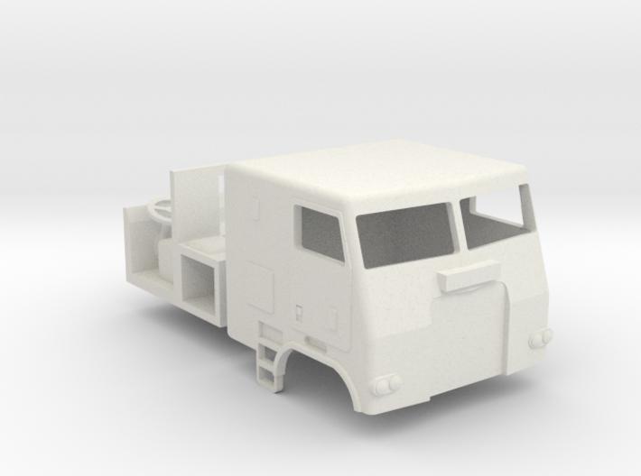 1/64 Freightliner Cabover 3d printed