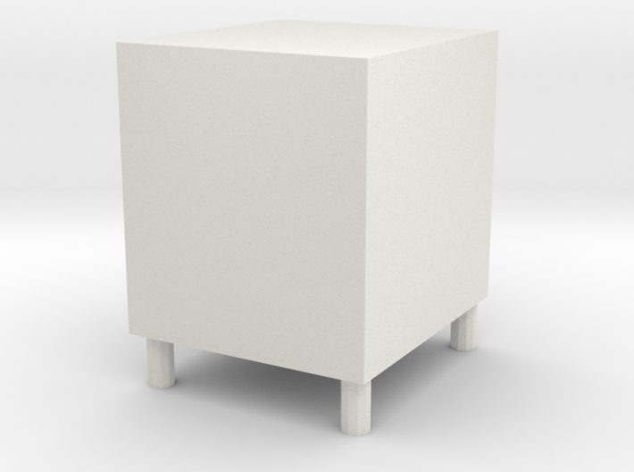 Low cabinet 3d printed