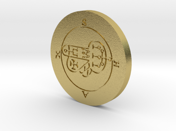 Shax Coin 3d printed