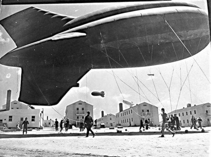 US Barrage Balloon Set of 4 3d printed