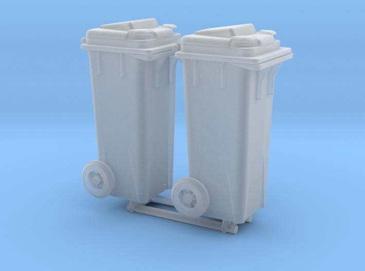 Kliko garbage can - 1:50 - 2X 3d printed