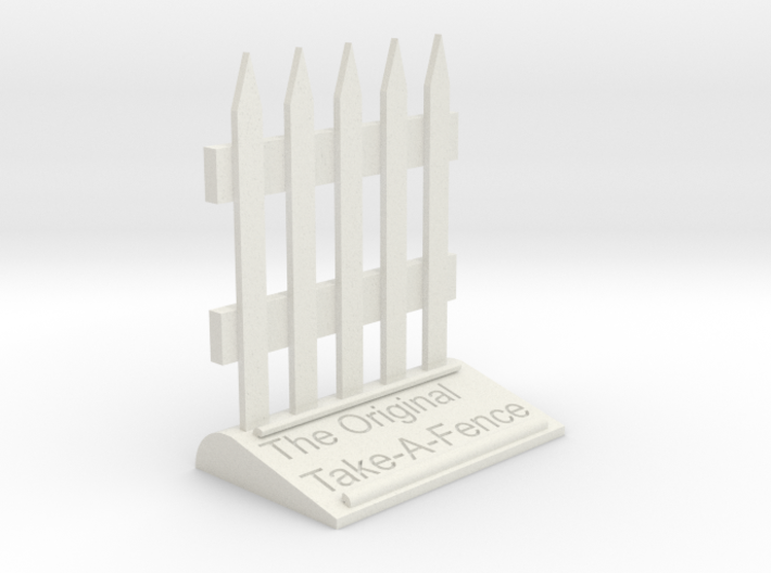 The Original Take-A-Fence: The Deed Restricted 3d printed