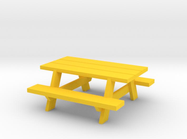 Picnic Table 3d printed