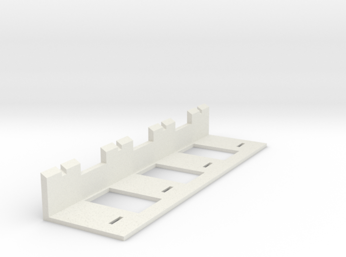 10' Chain-link Fence Frame Holding Jig 3d printed Part # CL-10-023