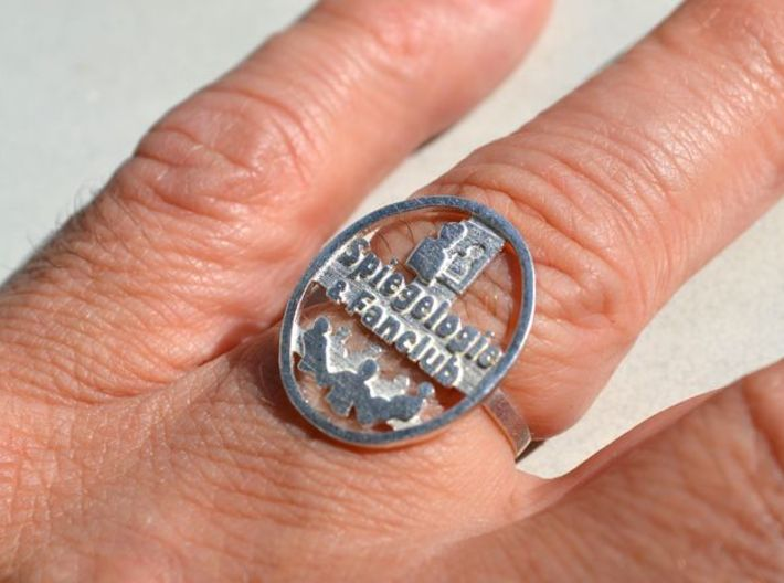 Spiegelogie Ring 19mm 3d printed photo printed ring