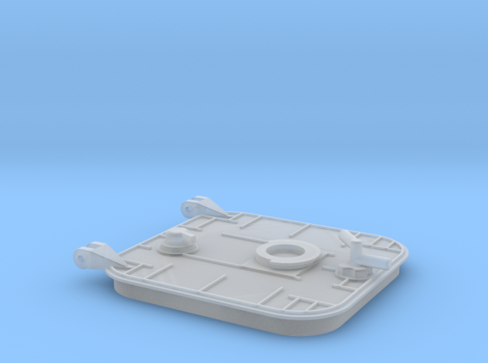 Main hatch 3d printed