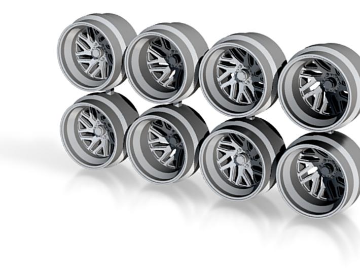 FF29 Truck Offroad 11mm Hot Wheels Rims 3d printed