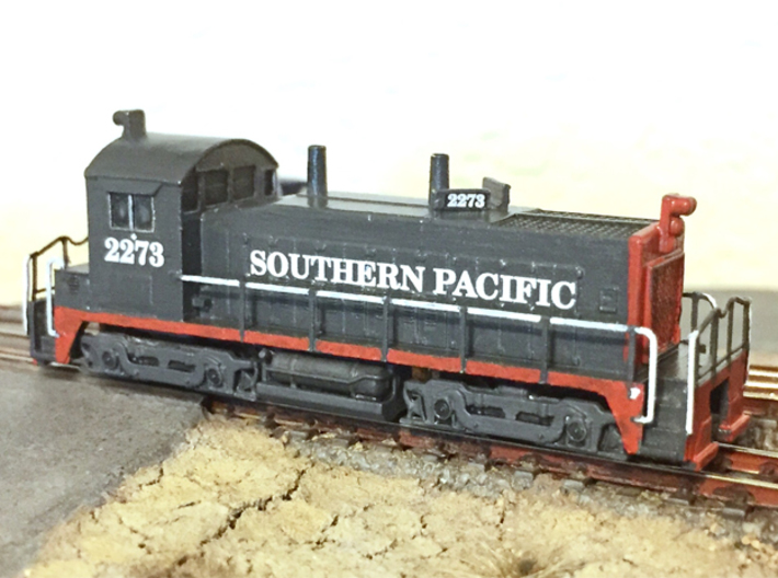 Z Scale SW1200 SP Style 3d printed