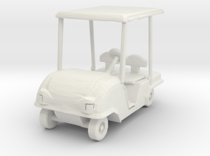O Scale Golf Cart 3d printed This is a render not a picture