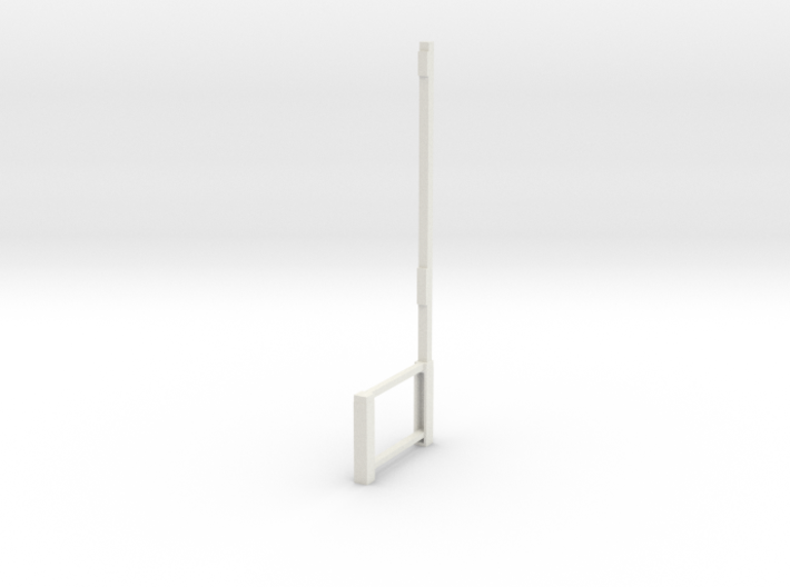 Part A Dressing room stool (for 1:12 figure) 3d printed