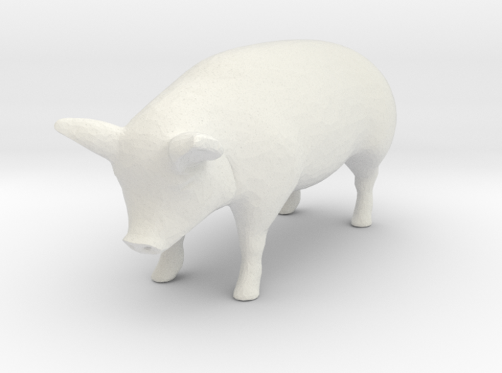 1-64 special pig 3d printed This is a render not a picture