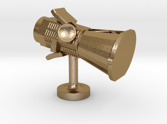 Scientist Collection - Parker Solar Probe Cufflink 3d printed