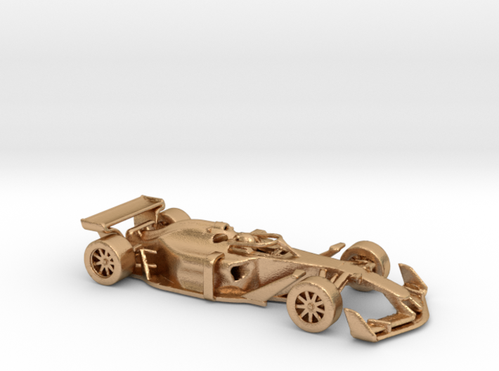 F1 2025 'Simplified' car 1/64 - with driver 3d printed