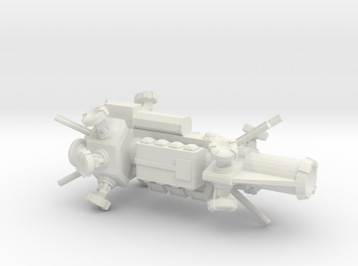 Digitorium Destroyer 3d printed