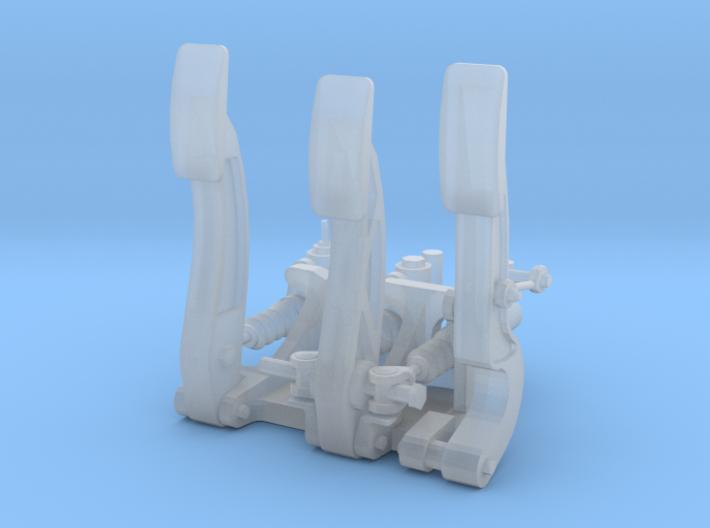 Racing Pedal Box Type 8 - 1/10 3d printed