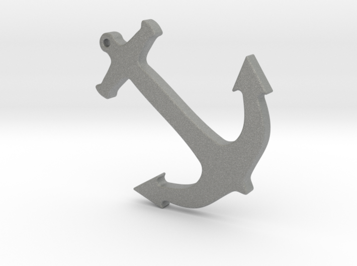 Anchor Nautical Necklace / Pendant-10 3d printed