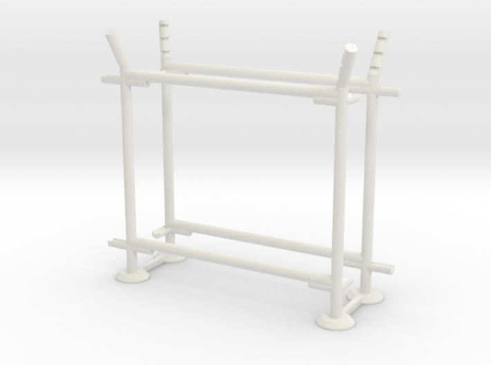 10' Fence Frame- 90 deg L/Out 3d printed Part # CL-10-007