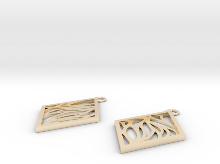 Aethra earrings 3d printed