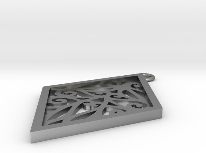 Tiana pendant 3d printed