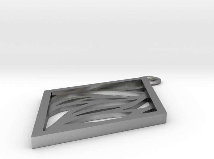 Aethra pendant 3d printed