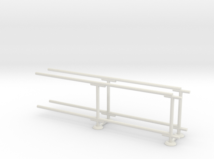 6' Straight Fence Frame-2-Bay (2ea.) 3d printed Part # CLBF-006-2