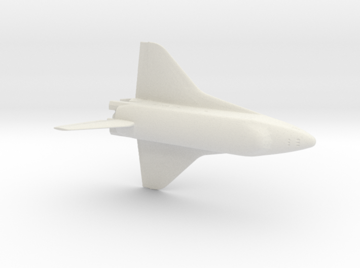 Buran space craft 1:400 scale 3d printed